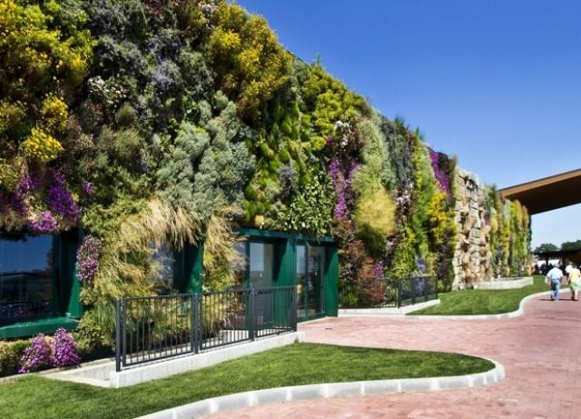 Dall orto sul tetto al giardino foglia rmfonline for Giardino verticale