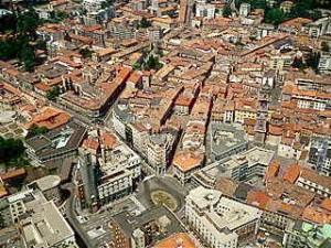 Il centro storico di Varese
