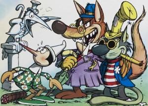 Pinocchio, il gatto e la volpe di Jacovitti