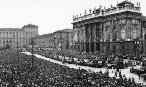 I funerali del Grande Torino nel 1949