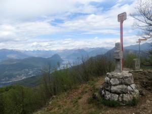 Vista dal monte Pravello