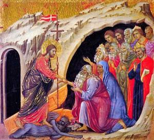 La discesa agli Inferi di Duccio