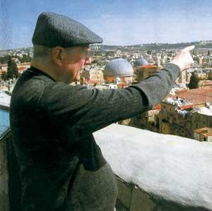Il cardinal Martini a Gerusalemme
