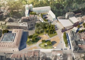 Il progetto della nuova piazza
