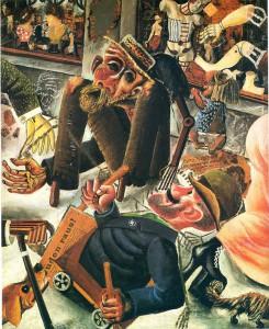 Otto Dix, Un giorno in Pragerstraße, 1920