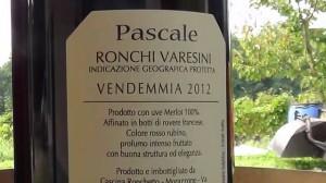 Una etichetta di vino varesino