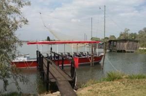 La barca Bulow alla Pialassa di Ravenna