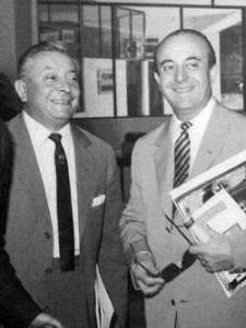 Nino Miglierin con Mario Lodi