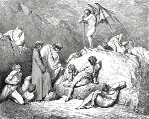 Tra i seminatori di discordia nell'Inferno di Dante