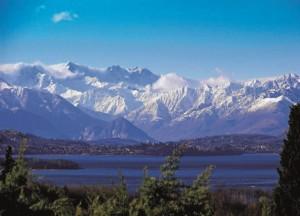 Il lago di Varese ed il monte Rosa