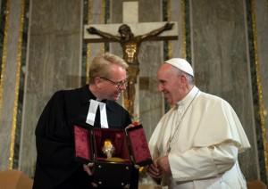 Il papa in Svezia il 31 ottobre 2016