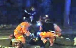 I soccorsi dopo l'incidente