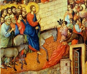 Duccio di Buoninsegna, Entrata di Gesù a Gerusalemme
