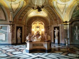 La cripta dei Savoia a Superga