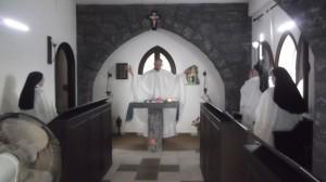 nel monastero trappista di Azeir