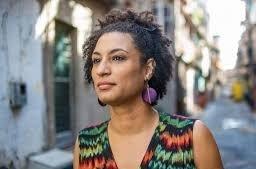 Marielle Franco ritratta nella sua favela