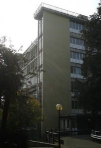 Il demolendo padiglione Santa Maria del Circolo di Varese