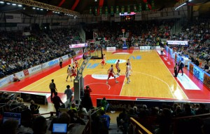 Una partita al Palazzetto di Varese