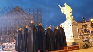 Ricostruzione nella patria di san Benedetto