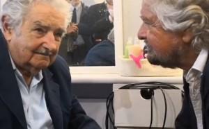 L'incontro del Presidente Mujica con Beppe Grillo