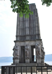 Il mausoleo di Luigi Cadorna a Pallanza