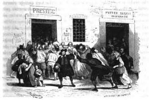 I milanesi assaltano i forni