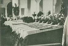 Basilica di Aquileia: le bare con i caduti non identificabili