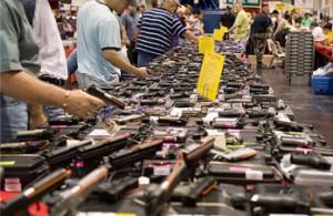 Negozio di armi in USA