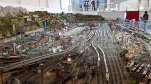 Il plastico ferroviario di Ogliari a Volandia