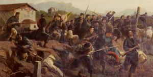 La battaglia di Varese del 1859 nel dipinto di Faruffini ai Musei Civici di Pavia