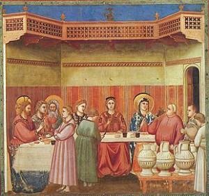 Le Nozze di Cana di Giotto