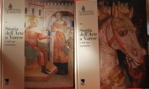 Due volumi della monumentale Enciclopedia di Varese