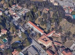 Da Google Earth Villa Baragiola ed il suo parco