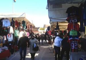 L'attuale mercato in piazzale Kennedy