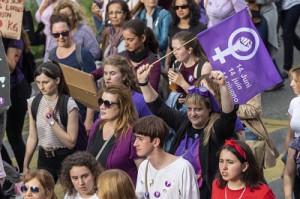 Manifestazione delle donne in Svizzera