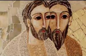 L'arte della misericordia in un mosaico di Rupnik