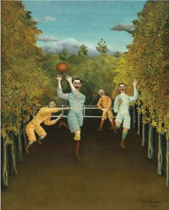 Henry Rousseau, I giocatori di football, 1908