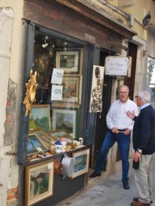 Vecchia bottega a Venezia