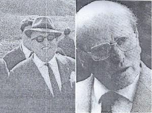 Ezio Bresciani e Luigi Ambrosoli