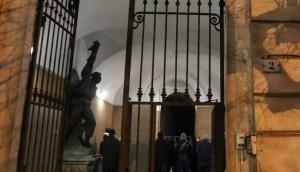 L'ingresso alla ex caserma Garibaldi