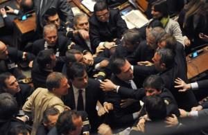 Litigio in Parlamento