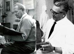 Giuseppe Montanari e Angelo Frattini