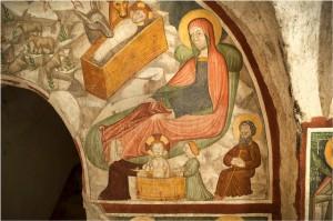 La Natività nella cripta del Sacro Monte