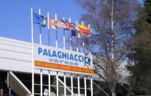 Il Palaghiaccio, una struttura per le Olimpiadi invernali