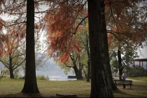 Il parco intitolato a Luigi Zanzi senior alla Schiranna