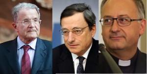 Romano Prodi, Mario Draghi, Antonio Spadaro