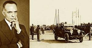 L'ing. Puricelli e l'inaugurazione della Milano-Varese