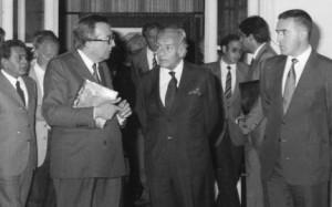 Varese 1984: L'inaugurazione della mostra di Guttuso