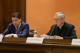 Conte e Parolin al convegno di Civiltà cattolica