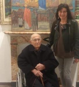 Giancarlo Montanari con la nipote Daniela